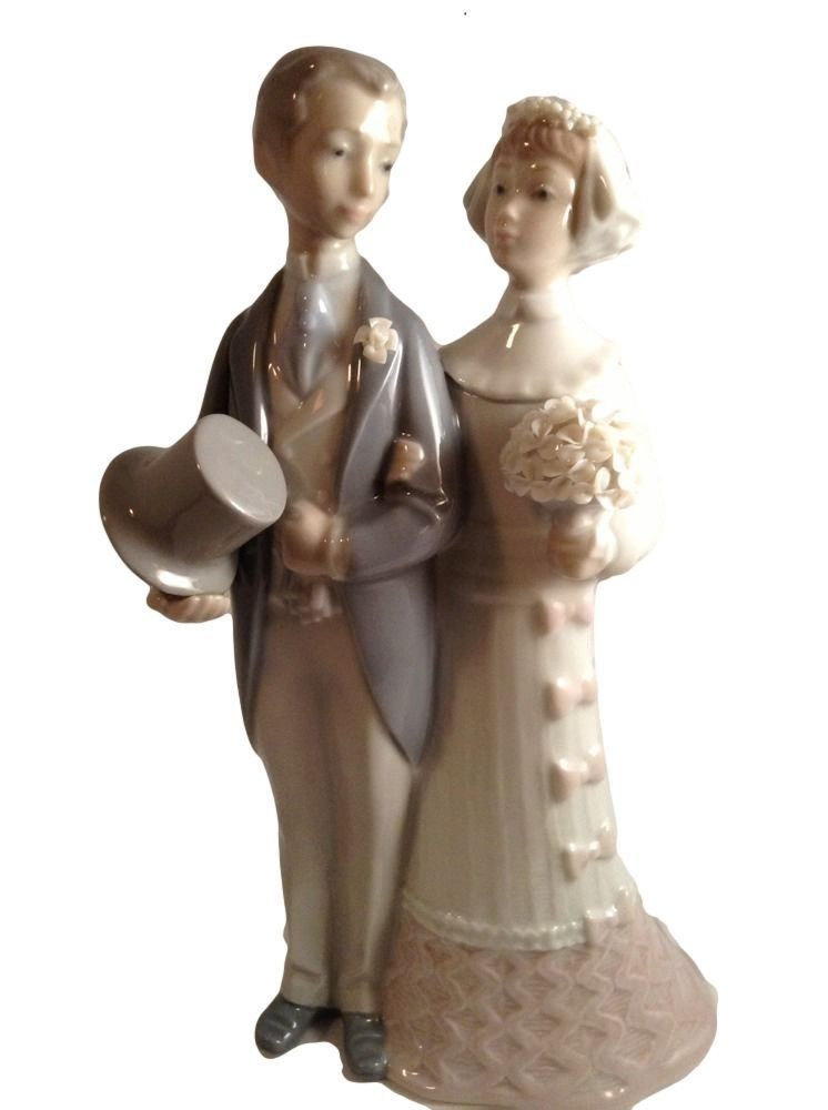 Primary image for Lladro Bride and Groom Figurine The Wedding Julio Fernandez Spain