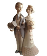 Lladro Bride and Groom Figurine The Wedding Julio Fernandez Spain - $149.99