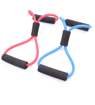 1pcs pulling rope rubber tubes control weight elastic band Yoga - $4.99