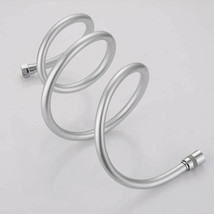 Anti-Kink Silver Bath PVC Shower Head Hose 360° rotation With 2 Brass Co... - $35.50