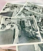 U. S. Army Soldiers Making Phone Calls - 6 Photos - Korean War Era - $48.38