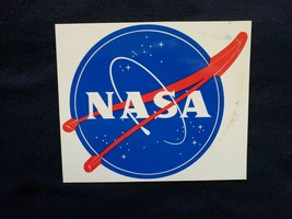 """NASA Sticker ~ Measures 4"""" by 4 3/4""""! - $5.90"""