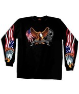 POW MIA ALL GAVE SOME/SOME GAVE ALL PATRIOTIC AMERICAN EAGLE LONG SLEEVE T SHIRT - $24.70 - $28.66