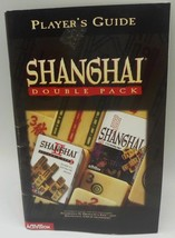 Vintage Activision Shanghai Double Pack Players Guide - Guide ONLY   for PC - $5.69