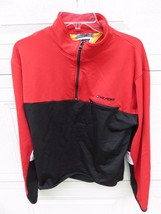Vtg Tommy Hilfiger Tommy Athletics Spellout Embroidered Sz.Large 1/4 Pul... - $39.55