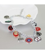 and DC Bracelet For Women The American Captain Iron Man Spider-man Thor... - $8.60