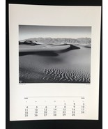 JULIUS SHULMAN Photograph 11x14 Lithograph Portfolio Print Death Valley,... - $23.19