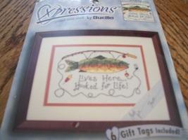Bucilla Xpressions Cross Stitch Kit 42538~Fisherman - $14.00