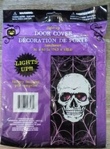 Halloween Door Cover Skull light up 30x60 - €3,53 EUR