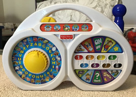 Fisher Price TALK 'N TEACH RADIO - Countless Features, 77638, RARE!!! - $74.25