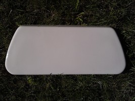 7SS75 Kohler Toilet Lid, Bone / Almond ??, Very Good Condition - $44.32