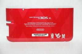 OEM RED Pokemon Nintendo 3DS XL Housing Back Bottom Battery Cover Shell ... - $8.99