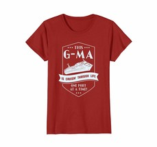 Funny Shirts - This G-Ma Is Cruisin' Through Life Grandma Gift T Shirt W... - $19.95