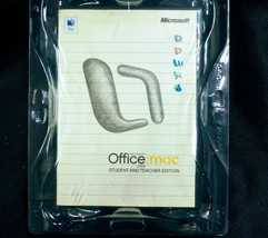 Microsoft Office 2004 Student and Teacher Edition for Mac - New Sealed - $14.95