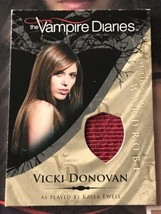 Vampire Diaries Season 1 Wardrobe M17 Kayla Ewell as Vicki Donovan Red V... - $20.79