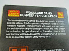 Micro-Trains # 49945954 Desert Camo Humvee Vehicle 2 Pack N-Scale image 4