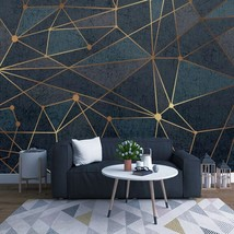 """3D Wallpaper """"Abstract Geometric Lines """" - $35.00+"""
