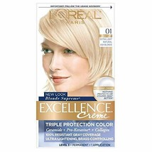 L'Oreal Paris Excellence Creme Haircolor, Extra Light Ash Blonde [01] (Cooler) 1 - $18.80