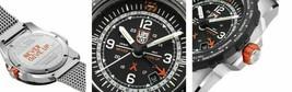Luminox Bear Grylls Air GMT XB.3762 44mm Black Mesh Steel Quartz Men's Watch image 2