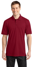 Port Authority K555 Men's Soft Stretch Polo Shirt - Chili Red - $19.58+