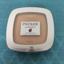 L'Oreal Paradise Enchanted Scented Blush Compact #192 Curious - $6.79