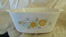 Corningware Floral Bouquet P-43-B Casserole 700ml Free Usa Shipping - $17.75
