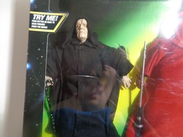 """Star Wars Electronic Emperor Palpatine and Royal Guard 12"""" Figures 1998 NIB - $37.40"""