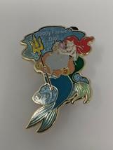 Ariel And King Triton Little Mermaid Happy Father's Day WDI LE200 Disney Pin - $19.99