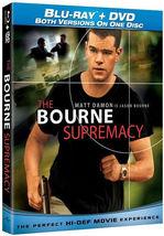 The Bourne Supremacy [Blu-ray + DVD] New