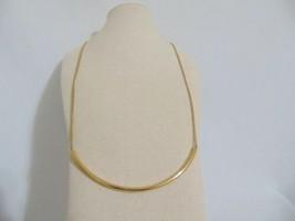 Michael Kors Gold-Tone Curved Bar Slider Necklace S269 $125 - $50.11