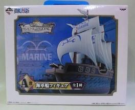 NEW Ichiban Lottery OnePiece VS Navy A Prize Navy warship figure Banpresto F/S - $46.57