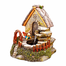 Fairy Sancturary GardenVillage Sculptural Fountain - $193.95