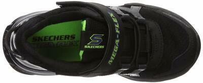 Skechers Kids Boys' MEGA-Volt Sneaker, Black/Purple, 13.5 Medium US Little Kid image 7