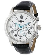 I By Invicta Men's 90242-002 Stainless Steel Watch with Black Leather Band - $78.89
