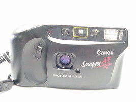 Canon Snappy AF 35mm Camera with Built-in Flash - $22.27