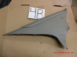 06-11 Honda Civic Sedan C Pillar Post Left Rear Trim Panel Back Seat - $39.59