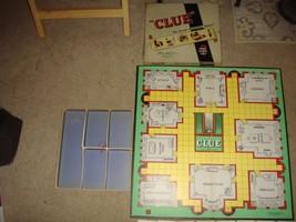 Vintage Clue Parker Brothers 1949 1950 Board Game - $23.99