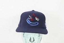 Vintage 90s New New Era Vancouver Canucks NHL Hockey Snapback Hat Cap Na... - €35,70 EUR