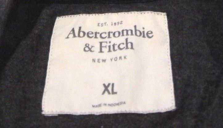 Mens Abercrombie & Fitch Ski Free Graphic Pocket T Shirt sz XL