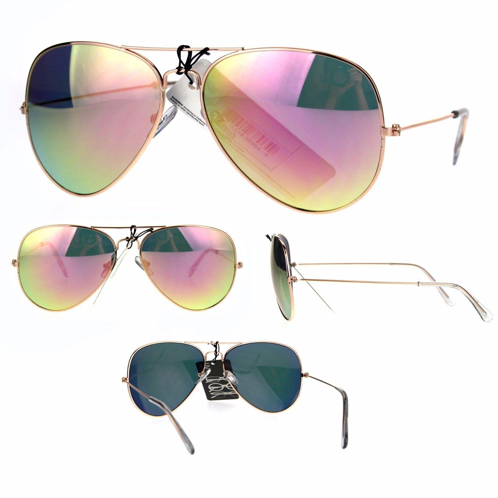 9e1f0c007d Pink Color Mirror Lens Gold Metal Rim and 50 similar items. S l1600