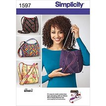 Simplicity Pattern 1597 Ladies Purses 4 Styles Designed by Ghee's - $13.48
