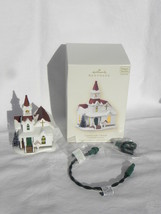 2008 Hallmark Candlelight Services Countryside Church Lighted Christmas ... - $14.99