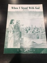 When I Stand With God Sheet Music - $14.43