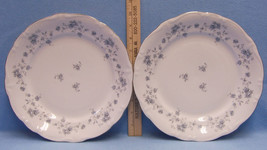 Vintage Johann Haviland Blue Garland Dinner Plates Lot of 2 - $19.79