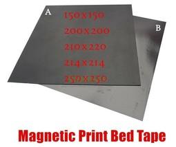 3D Printer DIY FlexPlate Build Print Sticker Tape Plate Magnetic Print B... - $15.02+
