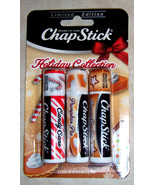 Chapstick Sugar Cookie Pumpkin Pie Candy Cane Holiday Collection Flavors... - $11.99