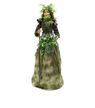 """Halloween prop decoration Fabric Forest Witch, 22"""" seasonal (a) - $188.09"""