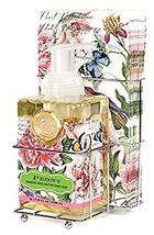 Michel Design Works Foaming Hand Soap and Napkin Caddy Set, Peony, - $38.60