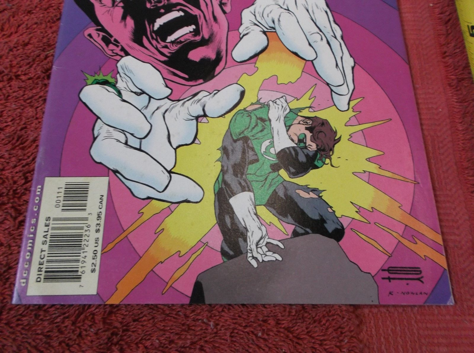 Silver Age: GREEN LANTERN # 1 (July 2000) * Justice League in New Story! NM/MINT