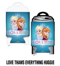 Walt Disney Frozen Movie Love Thaws Everything Huggie Drink Can Cooler K... - $5.94
